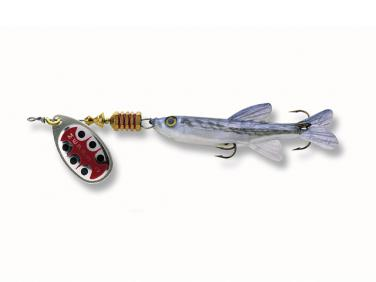 Mepps Aglia TW mit Fisch silber Gr. 1 5.0g Spinner