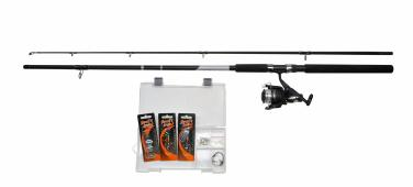 Shakespeare Catch more Fish Spinnangelset 2.40m 20-60g Angelset