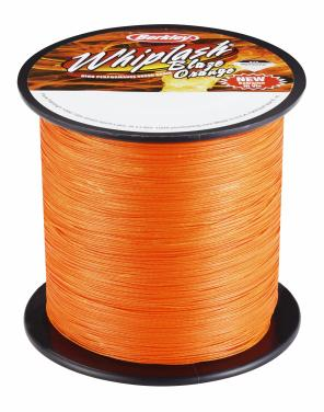 Berkley Whiplash Blaze Orange 1m 0.17mm Geflochtene Schnur