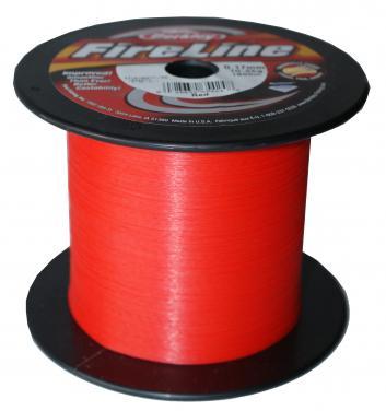 Berkley Fireline Red 0.10mm Geflochtene Schnur - Meterware