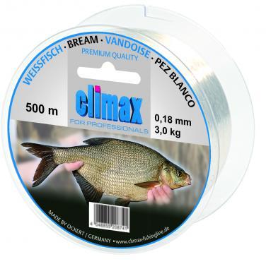 Climax Zielfisch Weißfisch 500m 0,15mm Monofile Schnur