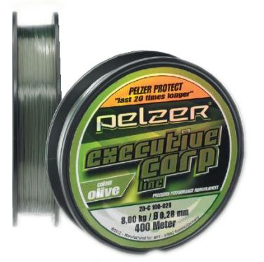 Pelzer Executive Carp Line Olive 0.30mm 400m Monofile Schnur