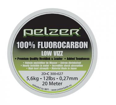 Pelzer Fluorocarbon 0.27mm 20m Fluorocarbon Schnur