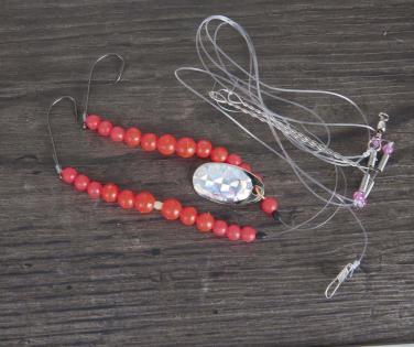 Aquantic Red Pearl Plattfisch Gr.1 Meeresvorfach