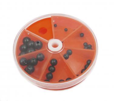 Drehdose Gummi-Perlen