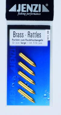 Jenzi Rattle Beads Brass M Rasseln