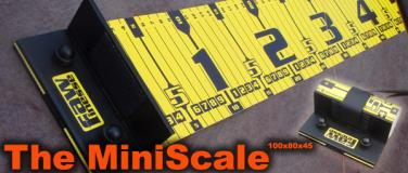 RAW Finesse  The MiniScale 140cm Maßband