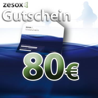 Zesox Geschenkgutschein 80,-€ / versandkostenfrei