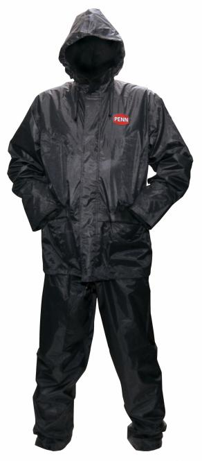 Penn Regenanzug - 2 Teilig Schwarz M Bekleidung