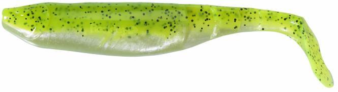 Berkley Flex Cutt Shad 7.5cm Chartreuse Gummiköder