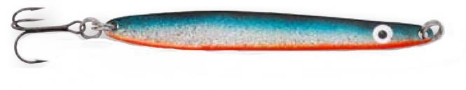 Hansen Flash Blau/Silber 10.1cm Blinker