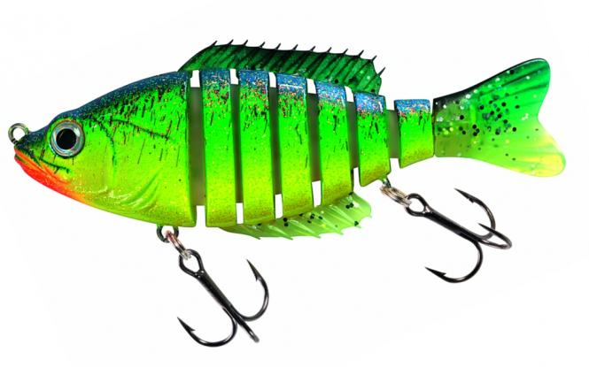 Corrigator Jeronimo-Bass Fire-Bass 12cm Swimbait