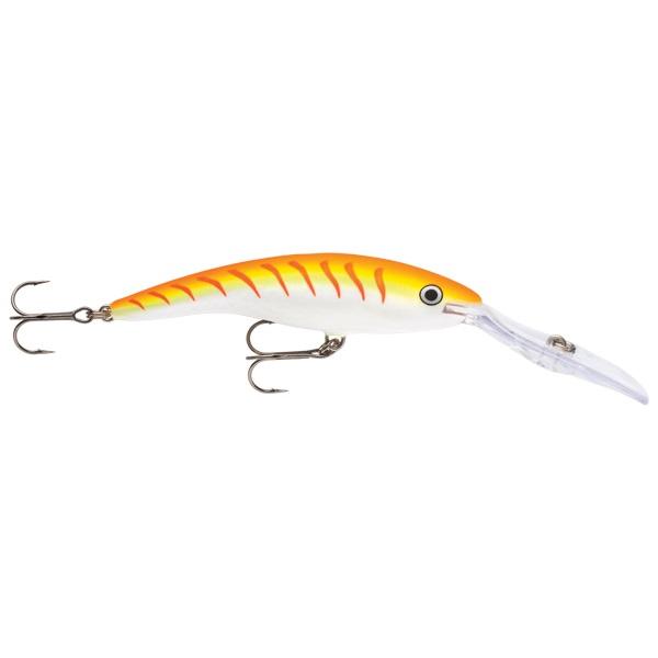 Rapala Deep Tail Dancer 9cm Orange Tiger UV Wobbler