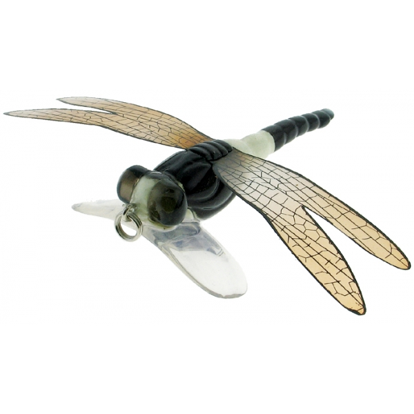 River2Sea Dragonfly Popper White/Black 7cm Popper