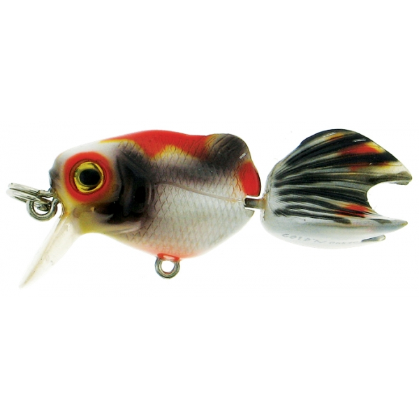 River2Sea Gold'n Crank Orange / Schwarz 4cm Crankbait