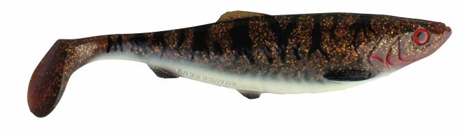 Savage Gear Herring Shad LB 32cm Brown Burbout  Gummiköder