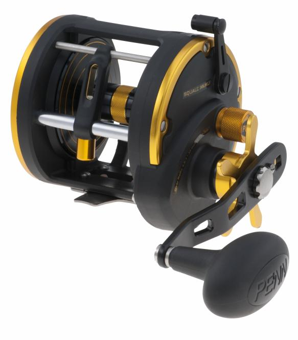 Penn Squall 30 Level Wind LH Reel Box Angelrolle