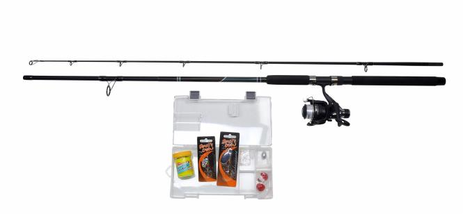 Shakespeare Catch more Fish Forellenset 2.40m 10-40g Angelset