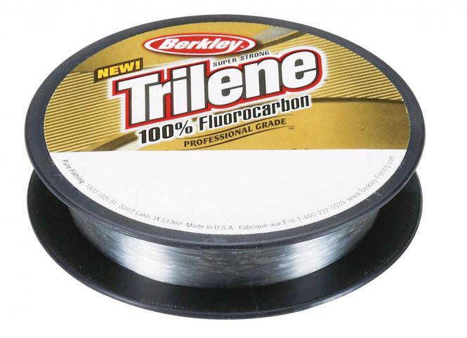 Berkley Trilene Fluorocarbon Transparent 0.14mm 50m Vorfachschnur