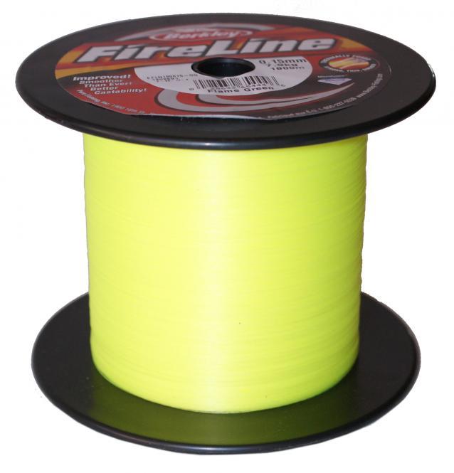 Berkley Fireline Flame-Green 0.17mm Geflochtene Schnur - Meterware