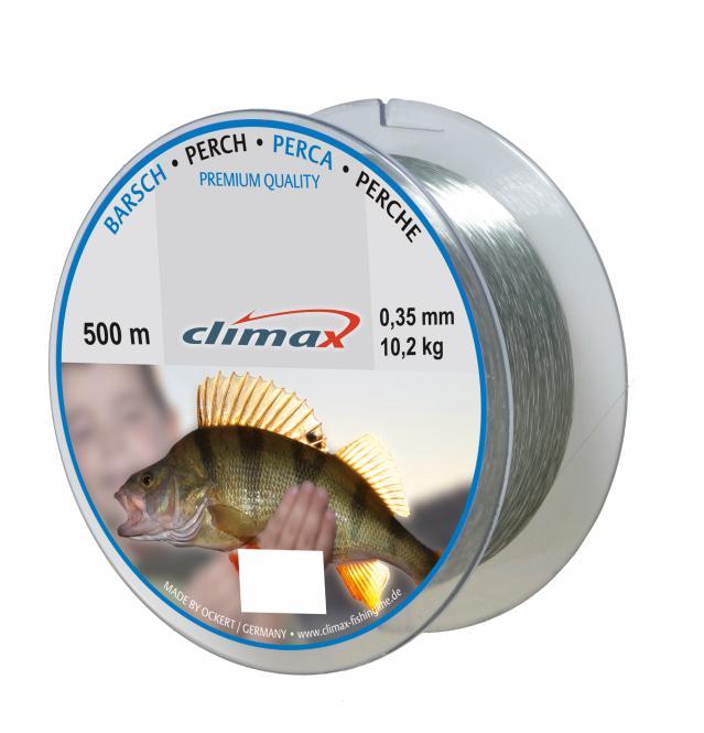 Climax Zielfisch Barsch 0.18mm Monofile Schnur