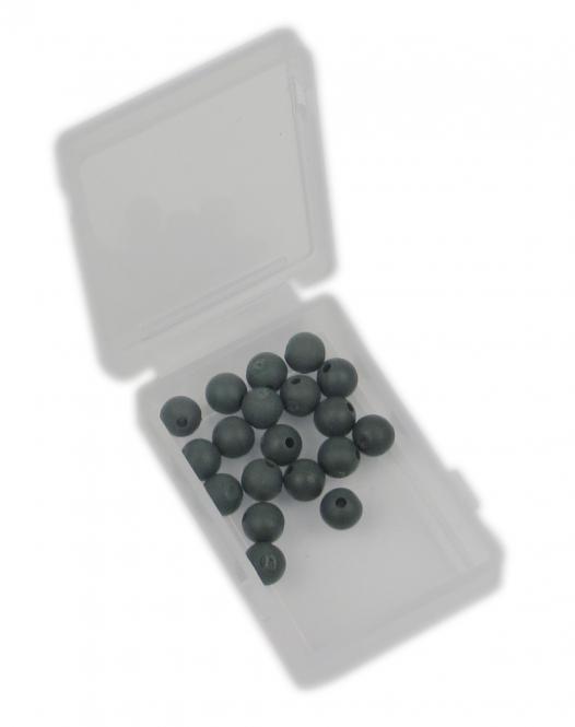 Premium Gummi-Perlen 4mm