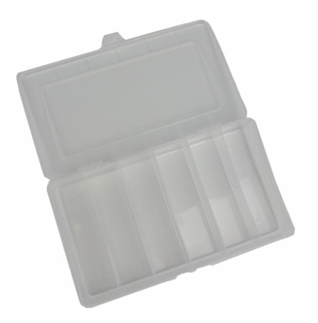 Zubehörbox 6 Fächer 21x12,8x3,4cm