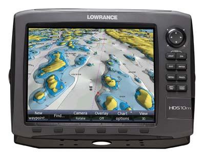 Lowrance HDS-10m Gen2