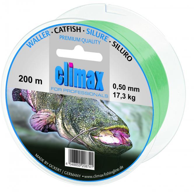 Climax Zielfisch Waller 200m 0,50mm Monofile Schnur